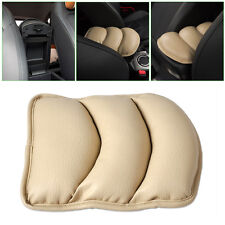 Car Armrest Pad Cushion Support Cover pillow for VW Audi BMW Mazda Honda -Beige