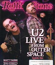 BONO EDGE U2 Rolling Stone Magazine 10/15/09 MIRANDA LAMBERT JAMES ELLROY