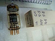 ECC801S By Colomor Gold Pins D New Old Stock Electronic Valve 1PC M17D