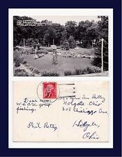WISCONSIN SALVATION ARMY WONDERLAND REAL PHOTO 13 AUG 1957 TO HOLGATE, OHIO