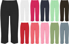 Wide Leg Capris, Cropped Pants for Women