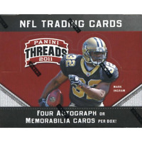 2011 PANINI THREADS FOOTBALL FACTORY SEALED HOBBY BOX IN STOCK FREE SHIPPING