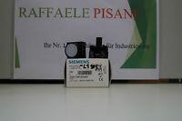 SIEMENS 3SB3 244-6AA60 Leuchtmelder, 3ZX1012-0SB30-1AA1 (NEU/OVP) Weiß/White