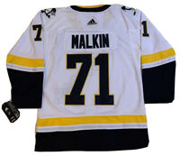 NWT #71 Evgeni Malkin Pittsburgh Penguins Alternate Jersey Size 48 Adidas