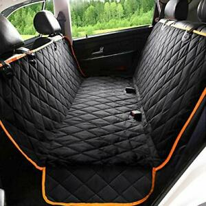 Upgraded Dog Car Seat Cover Waterproof Pet Seat Covers for Back Seat Suitable
