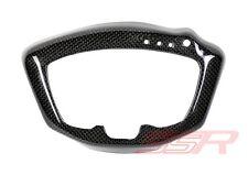 Ducati 848 1098 1198 Instrument Dash Surround Guard Gauge Cover Panel Carbon