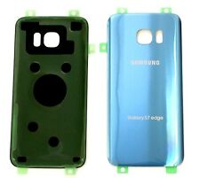 Original OEM Back cover Glass For Samsung Galaxy S7Edge G935 SPRINT/TMOBIE BLUE
