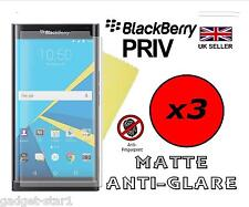 3x HQ MATTE ANTI GLARE SCREEN PROTECTOR COVER LCD GUARD FILM FOR BLACKBERRY PRIV