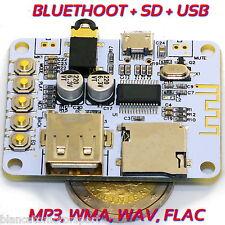 RICEVITORE AUDIO BLUETOOTH LETTORE SD CARD USB TF MP3, WMA, WAV, FLAC SCHEDA 5V