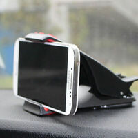 Universal Car Cradle Holder Stand Dashboard Hippo Mount Pad GPS For Phone I6D7