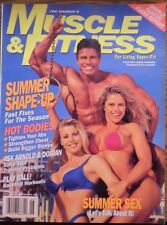 Muscle & Fitness Bodybuilding June 1996 Hot Bodies Summer Sex VGC (EB10)