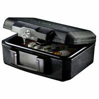 Sentry Fire Chest Fireproof Lock Box Hidden Money Cash Document Media Gun Safe