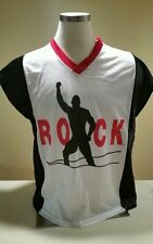 The Rock shirt jersey large 48 WWE WWF WCW TNA ECW NWA AWA WWWF Dwane Johnson