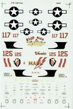 NEW 1:48 Superscale Decals 480607 Lockheed P-38H Lightning