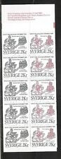Sweden SC # 1593a Lund Cathedral- City Of Helsingdorg .  Complete Booklet