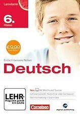 Lernvitamin - Deutsch 6. Klasse für Realschule ...   Software   Zustand sehr gut