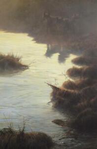 John Seerey-Lester - Phantoms of the Tundra - Wolves - Signed Ltd Litho - MINT