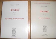 OEUVRES de Henri POINCARE en 11 Tomes