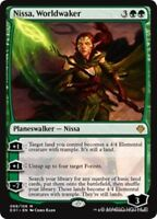 NISSA, WORLDWAKER Archenemy: Nicol Bolas MTG Green Planeswalker Mythic