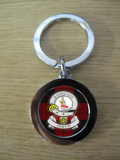 ERSKINE CLAN KEY RING (METAL) IMAGE DISTORTED TO PREVENT INTERNET THEFT