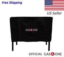 GAS ONE Outdoor Double Burner and Grill Patio Weather & Dust Resistance Cover