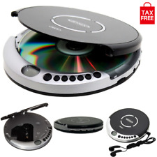 CD Disk Player Portable with Bass Boost CD-R/RW Anti-Skip Protection