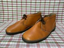 Clarks  UK 7.5 Crepe Sole Desert Boots Brown Leather