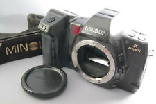 Minolta α8700i 35mm SLR Camera Black [Excellent] w/ Cap From Japan