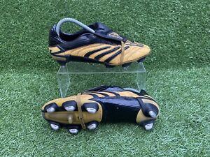 Adidas Predator Absolute Gold Football Boots [2006 Very Rare] SG UK Size 9