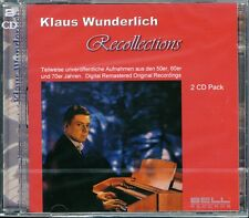 Klaus Wunderlich - Recollections - Double CD of Organ Music (Brand New & Sealed)
