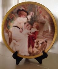 "LENOX 1993 ANNUAL MOTHER'S DAY COLLECTOR'S PLATE~""CHASING BUBBLES""~NUMBERED~"