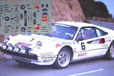 DECAL CALCA 1/43 FERRARI 308 GTB VALENTINO J. PONS - R. MONTSENY GUILLERIES '85