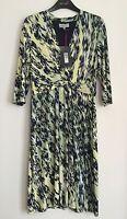 Per Una Cross Over Jersey Print Dress Sizes 12/14/18