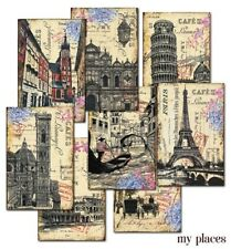 My Places Decorer Mini Paper Pack 24 sheets