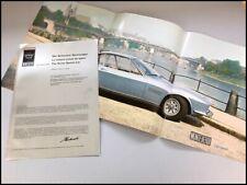 Monteverdi 375 375L High Speed Vintage Car Sales Brochure - 1968 1969 1970 1971