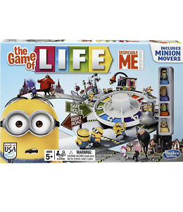 NEW Despicable Me Minion The Game of Life Game 2014 FREE SHIPPING