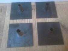 Scaffolding Tower Base Plates, Steel Scaffold Base Plates x 4