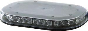 BRITAX BF700-04 LED Minibar Flashing Beacon Strobe Amber Light Clear Lens