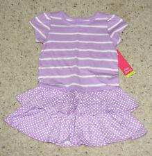 Okie Dokie African Violet Girls S/S Dress Sz 3Y~FREE SHIPPING