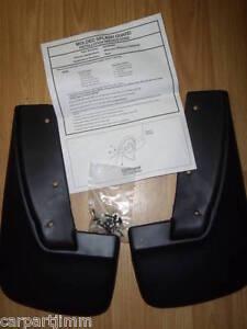 Dodge/Plymouth Minivan Mopar Accessory Splash Guard Pair Rear