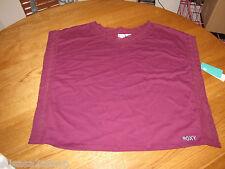 Roxy girls youth shirt size L Stardust 487388 BPL qp165u purple NWT 36.00^^