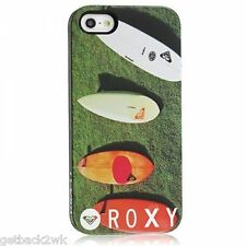 NEW Roxy iPhone 5 5S Hard SNAP Case Cover Single Piece Phone Surf Boards