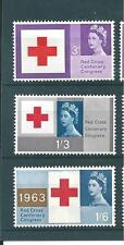 wbc. - GB - MOUNTED MINT - COMMEMS - 1963 - RED CROSS CENTENARY CONGRESS