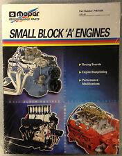 Mopar Small Block Manual 'A' Engines  Part Number: P4876826