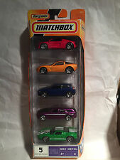 MATCHBOX 5er PACK / SET / COFFRET VOLVO GM DODGE FORD VI M0137 BOX #8 NEU NEW