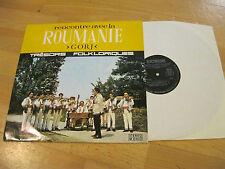 LP Roumanie GORJ Recontre Avec La Folklorique  Vinyl Electrecord STM-EPE  0803