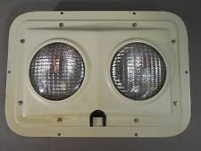 VINTAGE Bruce Ind BR-6083-701 Luminaire-Dual Seal Beam Industrial Punk Art USED