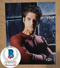 "TYLER POSEY SIGNED 8x10"" PHOTO BAS BECKETT COA AUTH#B55724 TEEN WOLF"