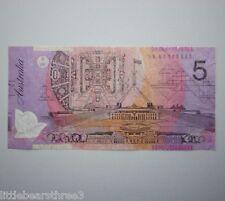 2007 Australian Bank Note $5 Five Dollar Stevens Henry First Prefix R221aF BA07
