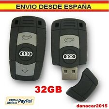 PEN DRIVE PENDRIVE DE UNA LLAVE DE COCHE AUDI 32GB 32 GB MEMORIA USB (4 8 16 64)
